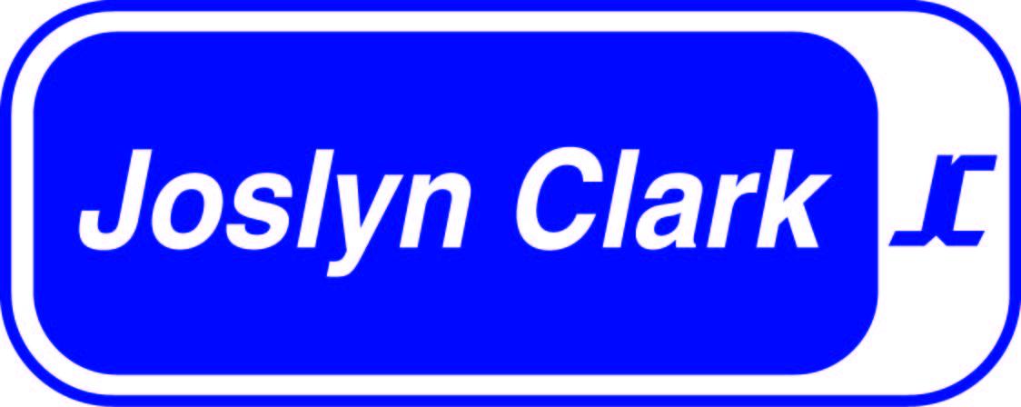 Joslyn Clark Logo CMYK Blue
