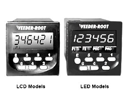 C346 Full-Feature LCD  LED Dual Preset Counter