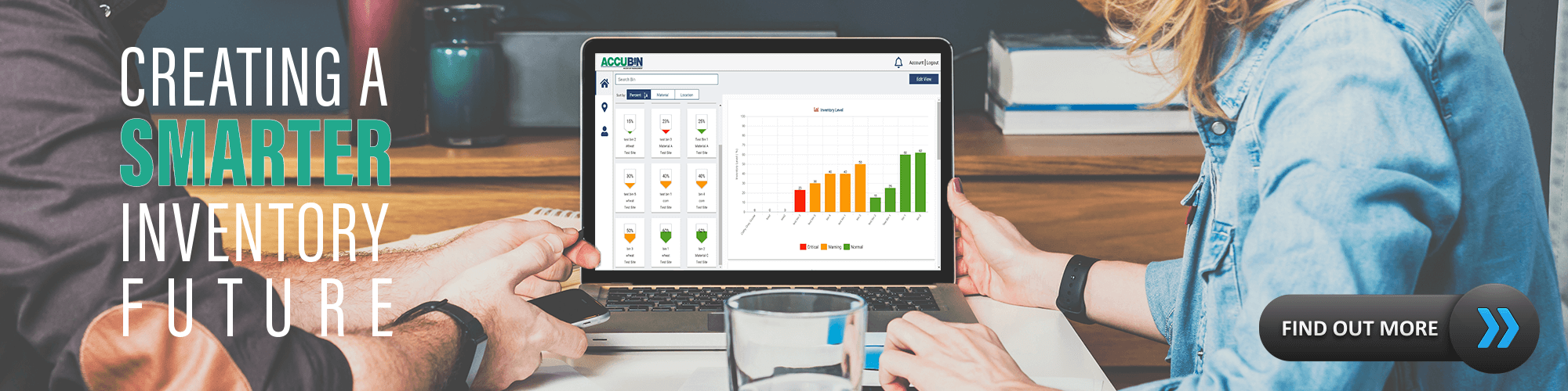 Learn more about AccuBin Smart Inventory Management