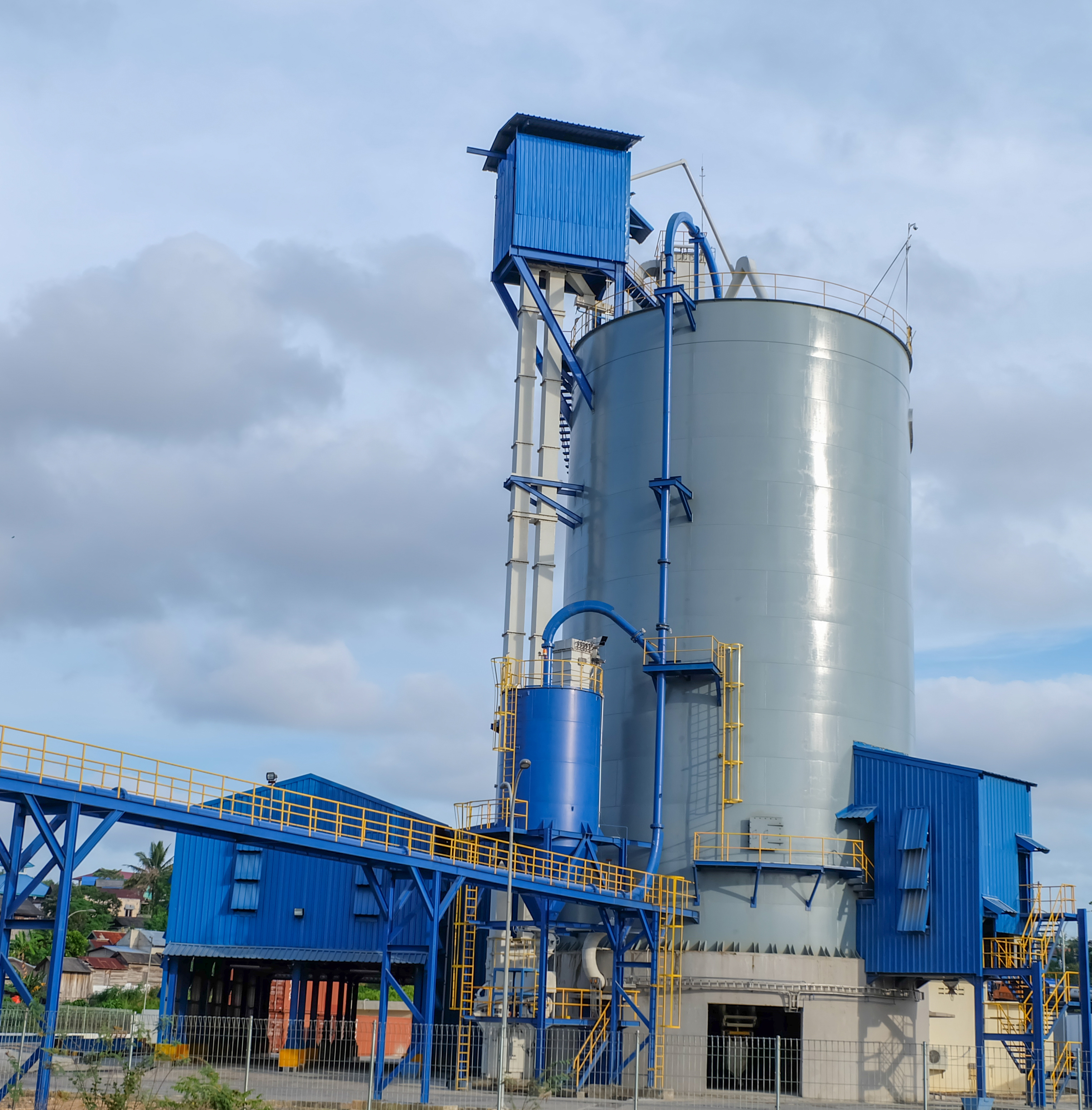 cement packing plant