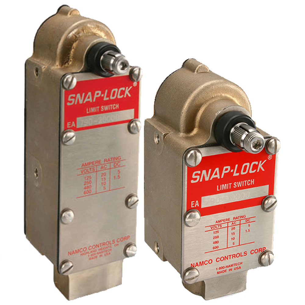 EA780 & 790 Series Heavy Duty Limit Switches