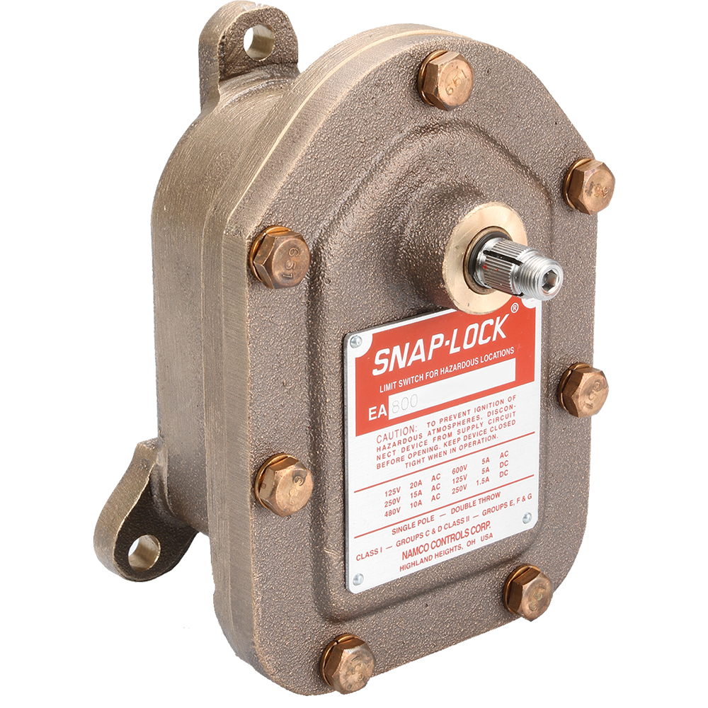 EA800 Series Heavy Duty Limit Switch
