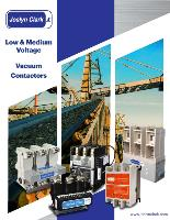 Low & Medium Voltage Vacuum Contactors
