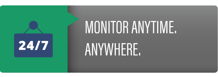 Monitor Anytime with AccuBin