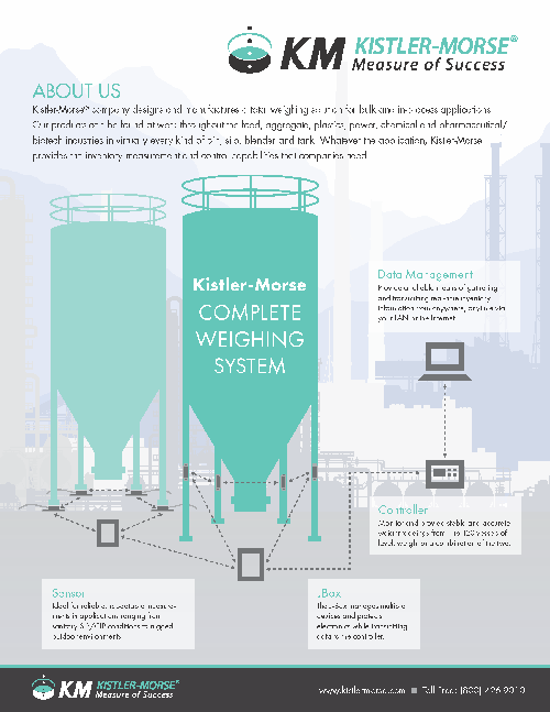 Kistler-Morse Overview Flyer